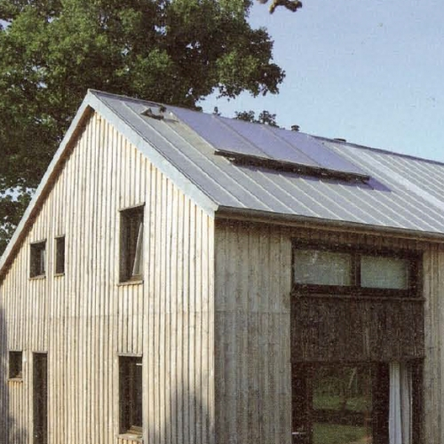 Conseil energ tique - Maison bioclimatique passive ...